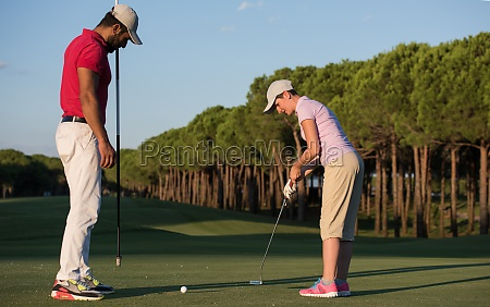 golf instructions