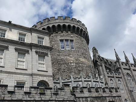 dublin castle with record tower