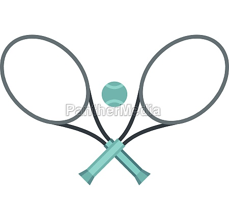 tennis, racket, and, ball, icon, , flat - 29998080