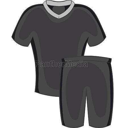 football uniforms icon black monochrome style