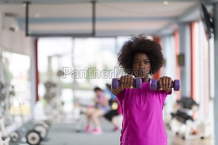 woman working out in a crossfit
