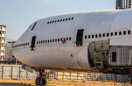 a boeing 747 or jumbo jet