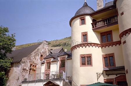 zell castle in zell mosel