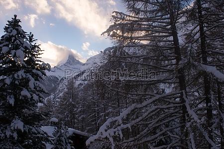 mountain matterhorn zermatt switzerland