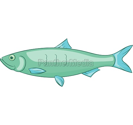baltic herring icon icon cartoon style
