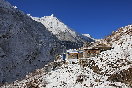 small hotels in the langtang valley