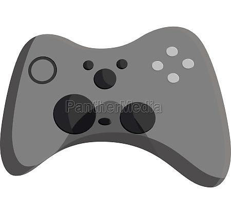 joystick icon black monochrome style