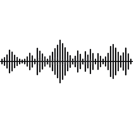 musical pulse icon simple style