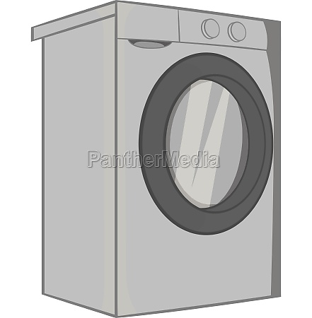 washer icon black monochrome style