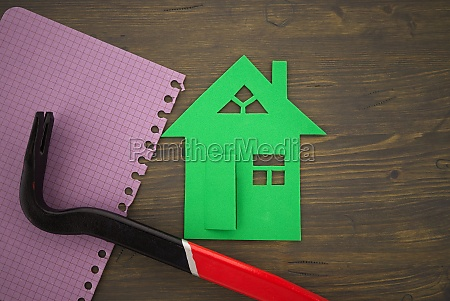 concept of home renovation or construction