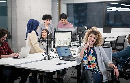 portrait of young female software developer