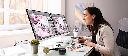 graphic web designer