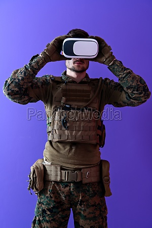 soldier virtual reality