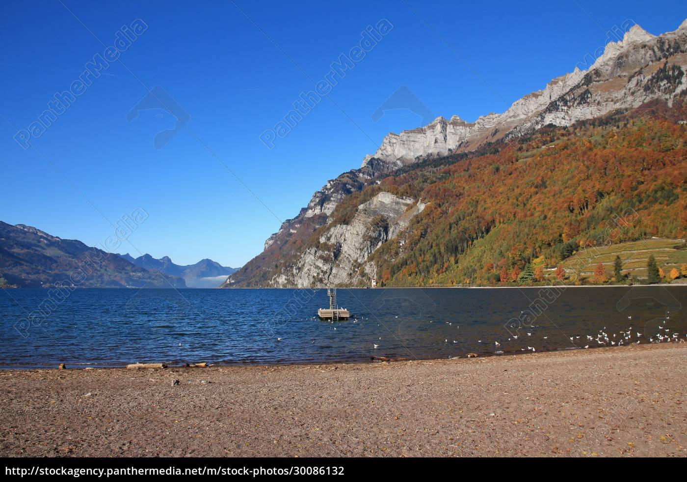 lake, walensee, and, mountains, of, the - 30086132