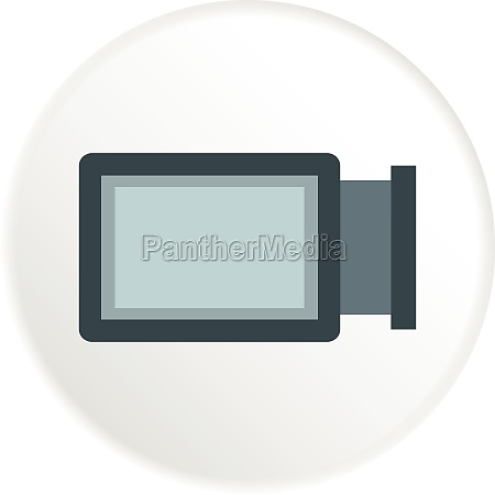 advertising sign icon flat style