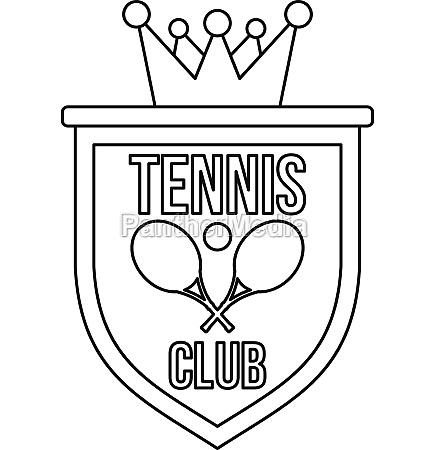 coat of arms of tennis club