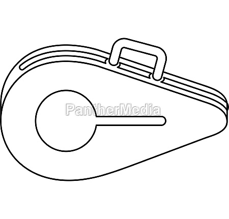 tennis, bag, icon, , outline, style - 30095264