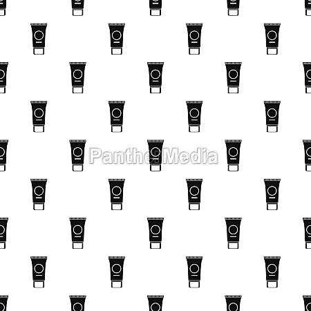 tube of cream pattern simple style