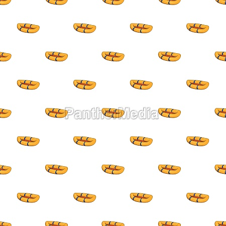 inflatable boat pattern cartoon style