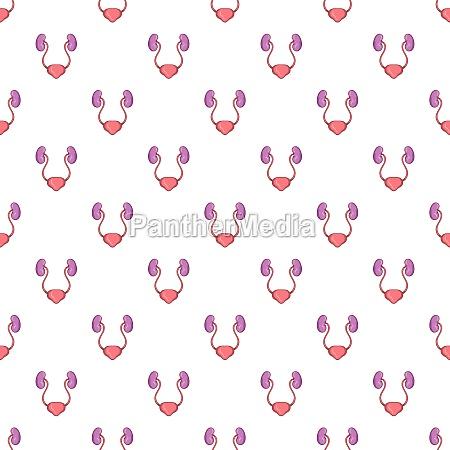 ear membranes pattern cartoon style