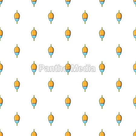 bobber pattern cartoon style