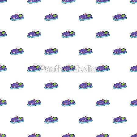 children bumper machine pattern cartoon style