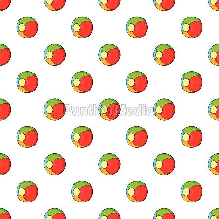 children ball pattern cartoon style