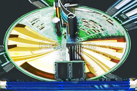 computer motherboard random access memory