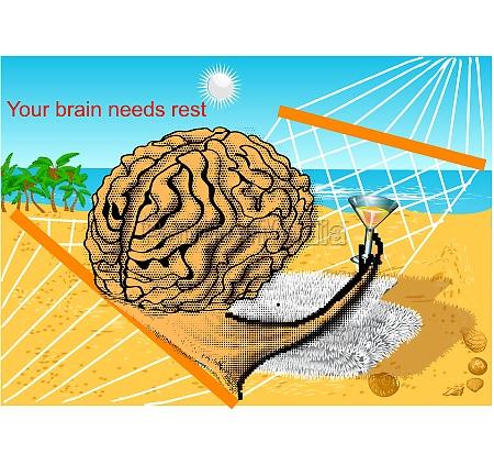 your brain needs rest