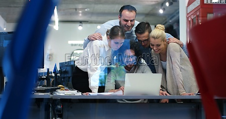 startup business team at a meeting