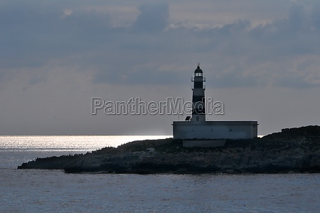 lighthouse near ibiza town