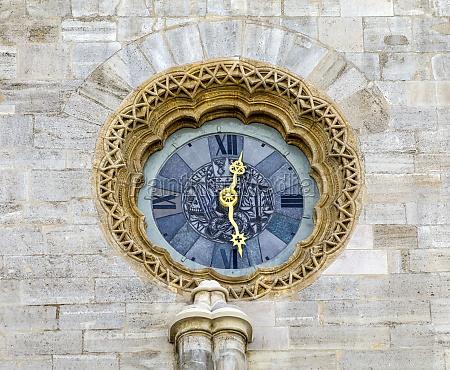 vienna cathedral clock