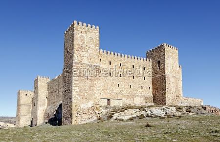 castle of siguenza guadalajara spain