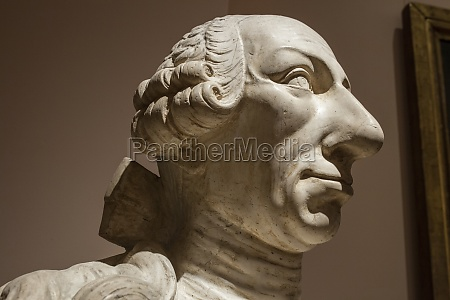 king carlos iii of spain bust