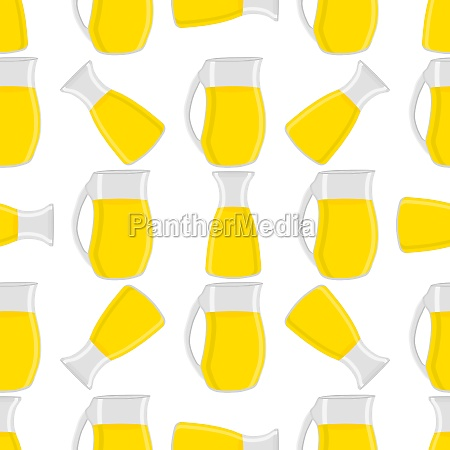 illustration on theme big colored lemonade