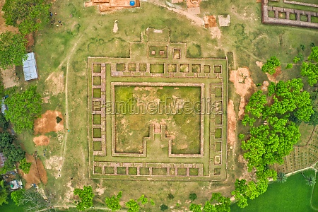 aerial view of behular bashor ghor