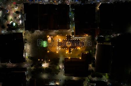 aerial view shrine parish of st