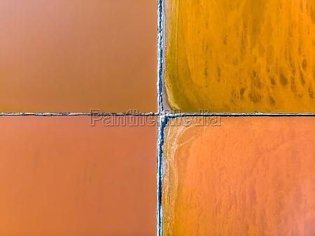 south africa velddrift above abstract aerial