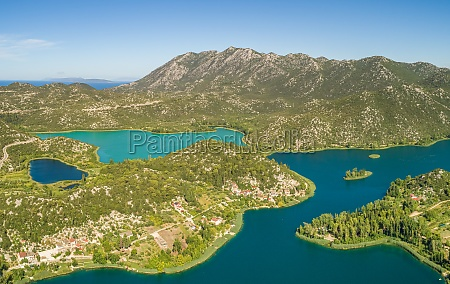 aerial view of bacina fresh water