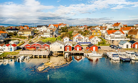 panoramic view of fotoe island with