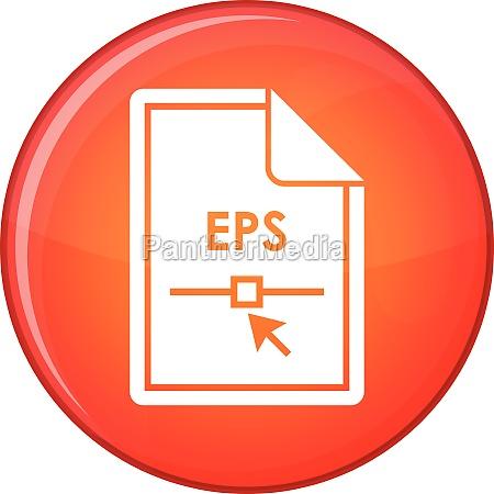 file eps icon flat style