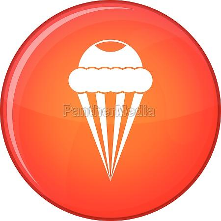 ice cream icon flat style