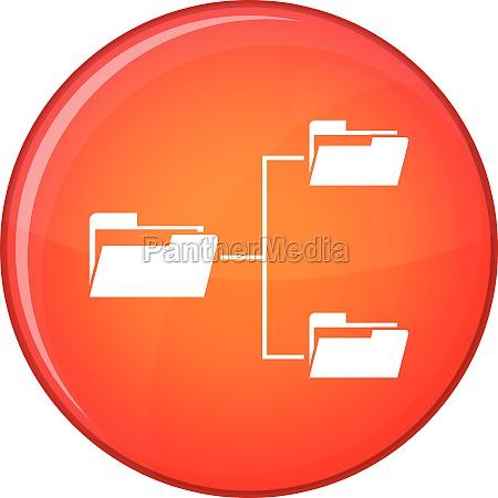 database icon flat style