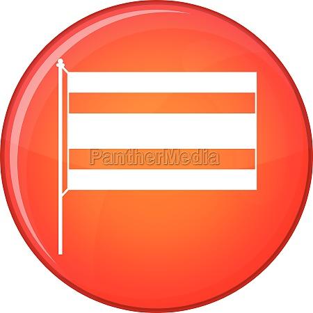 flag icon flat style