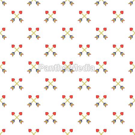 two arrows lgbt pattern cartoon style