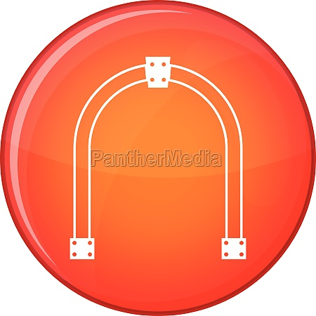 arch icon flat style