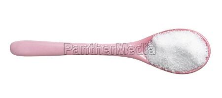 erythritol sugar substitute in pink ceramic