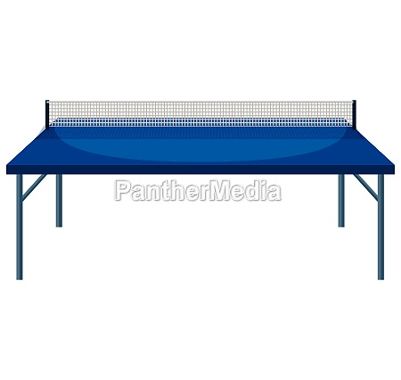 table and net for table tennis