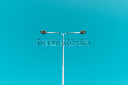 minimalistic photo of street light