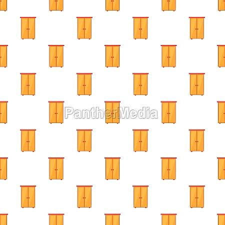 wardrobe pattern cartoon style